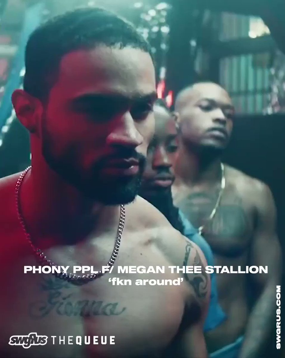 """Listen to @PhonyPpl's collaborative track featuring Megan @TheeStallion """"Fkn Around"""" here: swggr.us/39wDkQC"""
