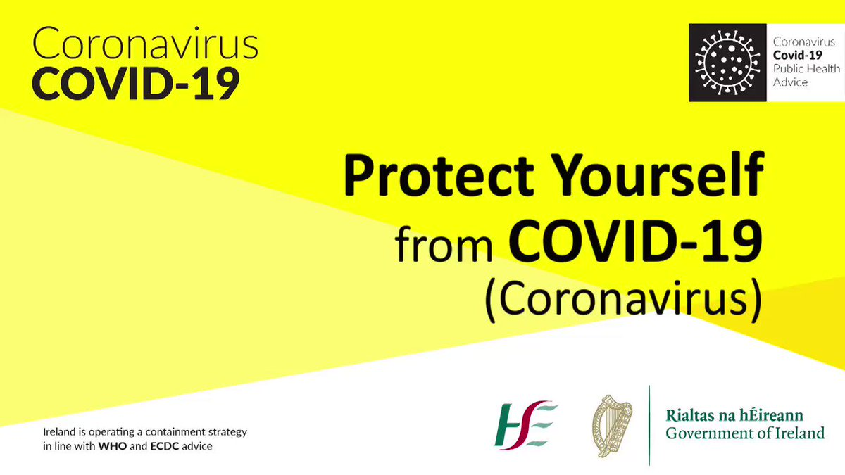Protect yourself with these measures. Spread the message not the virus. @roinnslainte @HSELive #COVID19 Please retweet.   https://t.co/DyboywsNHS