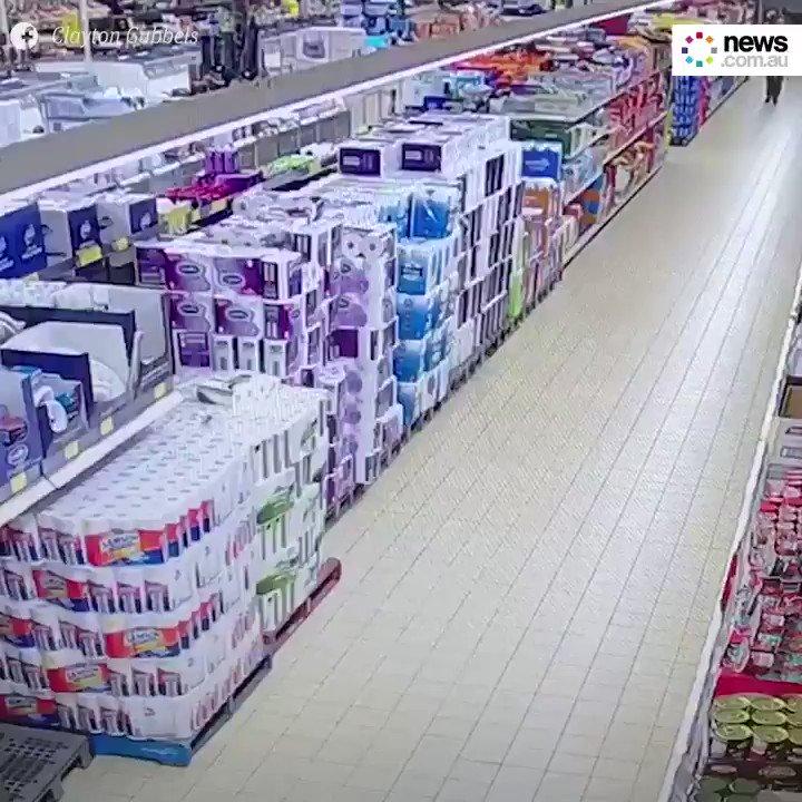 CCTV has revealed the insanity of the #toiletpaperapocalypse.