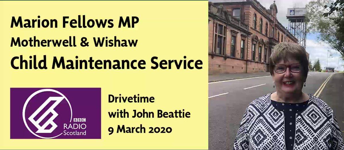 Marion Fellows Mp On Twitter Yesterday I Spoke About The Child Maintenance Service On Bbc Radio Scotland Cms Is Failing Both Parents But Ultimately The Children It Is Supposed To Serve There