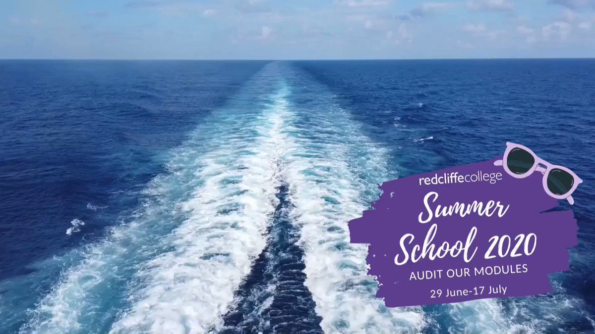 Join us at Summer School 2020! #trainingformission redcliffe.ac.uk/summerschool20 Music: bensound.com