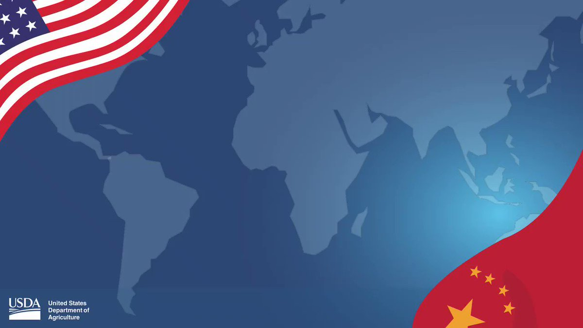 🚨🚨🚨More progress on the implementation of the China Phase One Agreement: usda.gov/media/press-re…