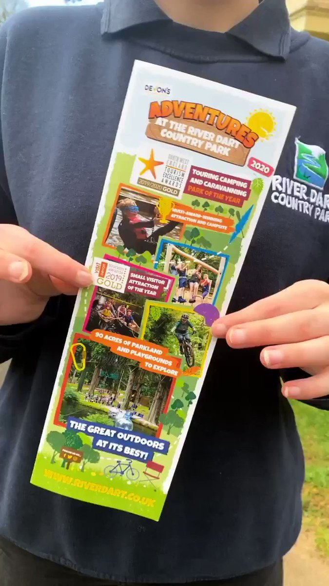 Our 2020 Day Visitor Leaflets have arrived!🥳 Whos coming to visit @RiverDartCP this year? 🤚 #camping #visitorattraction #tourism #Devon #Dartmoor #visitdevon #visitdartmoor #riverdartcountrypark