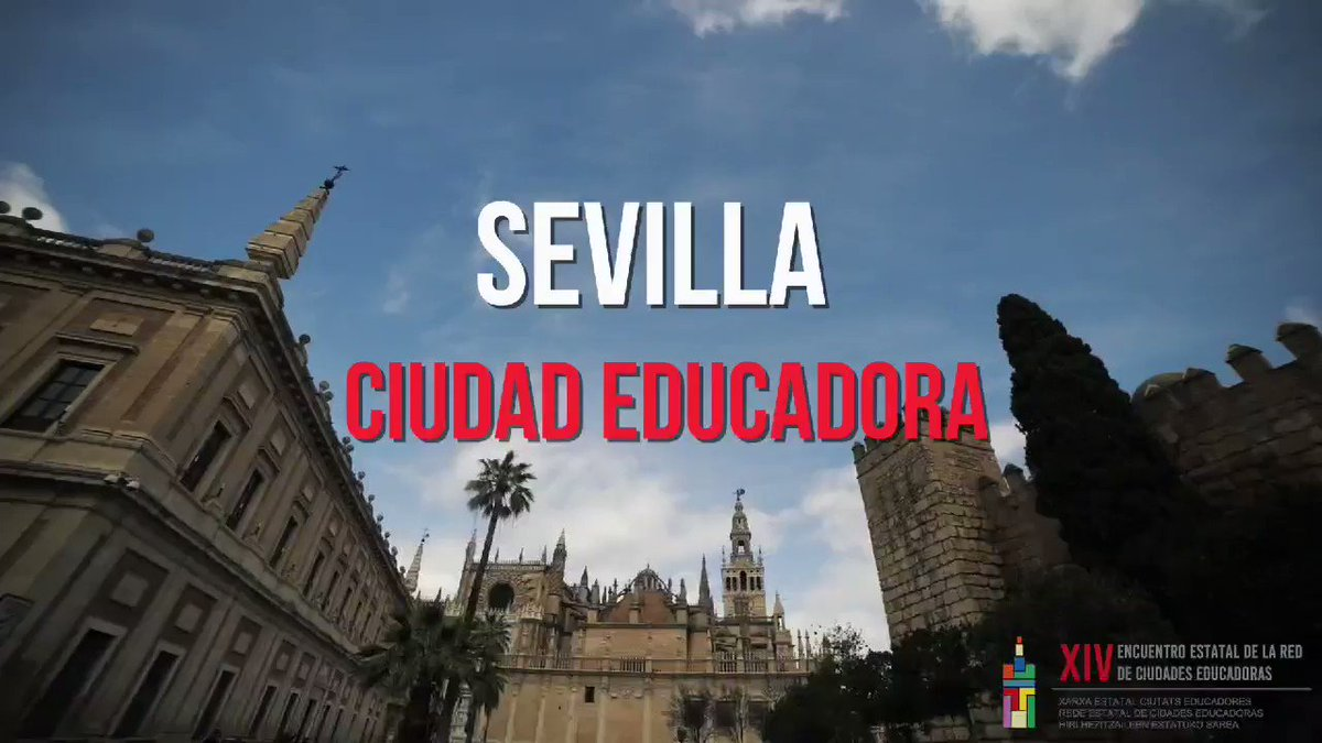 Image for the Tweet beginning: Sevilla #CiudadEducadora. A través de