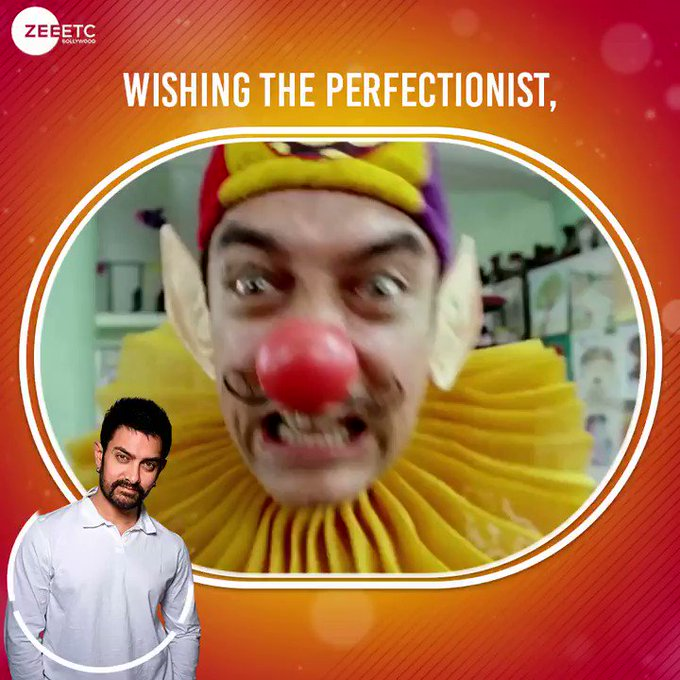 Wishing Bollywood ke perfectionist ko, a very Happy Birthday!