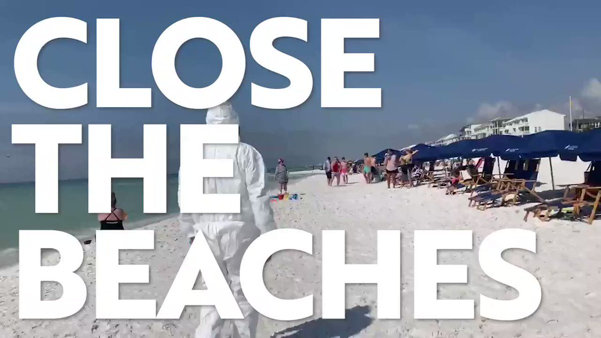 RETWEET TO HELP CLOSE THE FLORIDA BEACHES. CALL THE GOVERNOR AT 850-717-9337