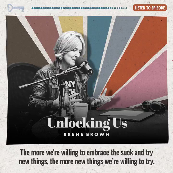 In the middle of a tough 'first time' - you're not alone. FFTs on the podcast today. brenebrown.com/podcast/brene-…