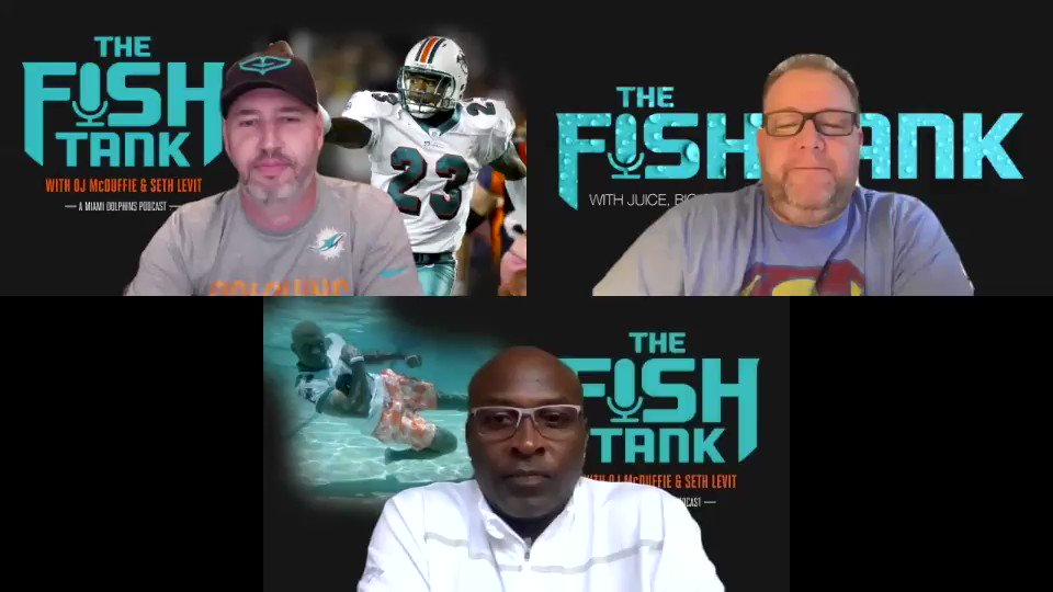Inspired by the new @MiamiDolphins  duo of @Byron31Jump  & @Iamxavienhoward , @ojmcduffie81  @TeamLevit  & @preciacha  reflect on the @psurtain23  episode!  #DiveIn  #FinsUp   Apple podcasts  https://podcasts.apple.com/us/podcast/the-fish-tank-miami-dolphins-tales-from-the-deep/id1409148022?i=1000429218125  … Spotify  https://podcasts.apple.com/us/podcast/the-fish-tank-miami-dolphins-tales-from-the-deep/id1409148022?i=1000429218125  … Google Podcasts:  https://podcasts.apple.com/us/podcast/the-fish-tank-miami-dolphins-tales-from-the-deep/id1409148022?i=1000429218125  …