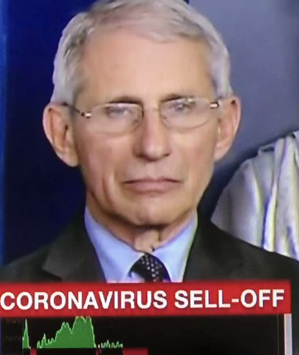 You can almost see Dr. Fauci's soul leave his body