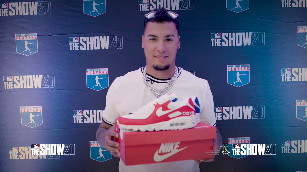 Win these limited @Nike #MLBTheShow #AirMax 90 👟shoes! Play my special Javy Báez Moment in #MLBTheShow20 to enter. Full rules: theshownation.com/program #PlayStationPartner #WelcomeToTheShow @mlbtheshow #sneakerhead #kicks
