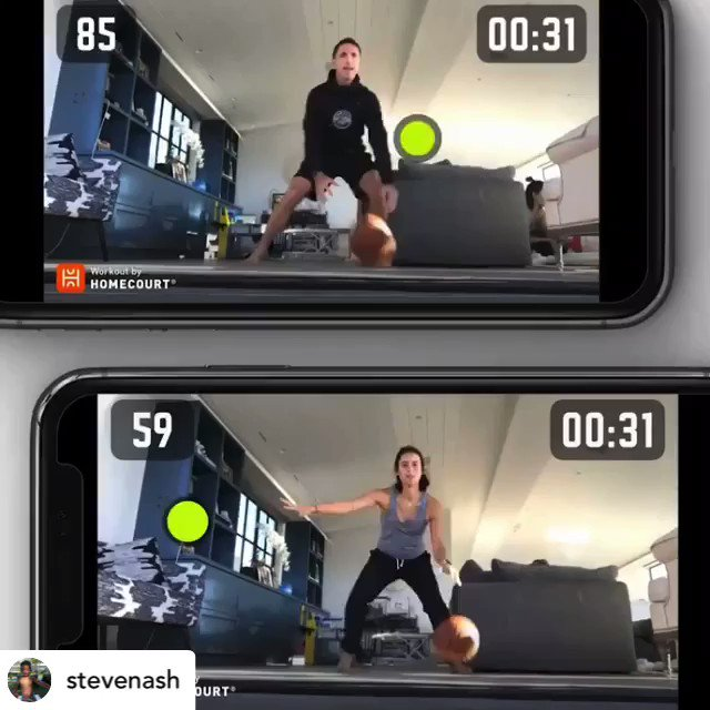 For our @AssumptionHCDSB student-athletes who are looking to improve their #basketball skills remotely ... this is a great app that allows you to play safe while keeping up with physical distancing measures.  Have fun!  Share your results for a retweet 😁🏀 https://t.co/v8DhxCkwZ6