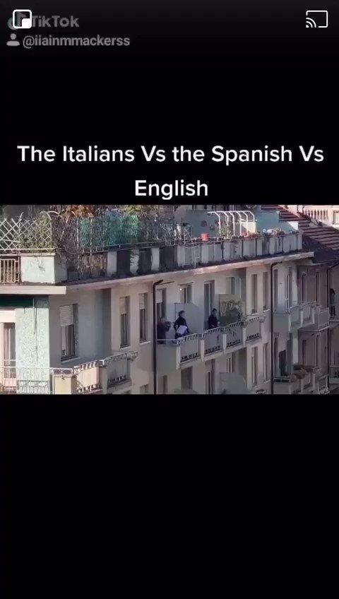 Ah the English spirit #Covid_19 #Brits2020