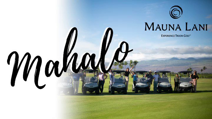 Image for the Tweet beginning: Mahalo to all of you.