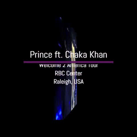 👉9 years ago today 👈#Prince had a show in #Raleigh, NC, #USA during the #Welcome2America #Tour and was joined by the wonderful @ChakaKhan to perform 'Sweet Thing'. 💜What are your memories of the show? (Video Source: Utube) #sweetthing #ChakaKhan #Prince #PaisleyPark #OTD