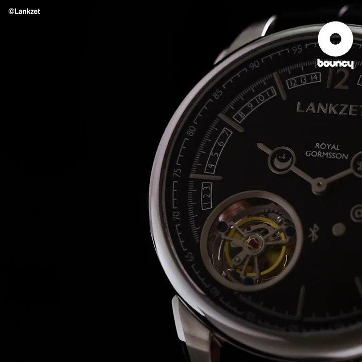 機械式時計の繊細美と最新テクノロジーが融合したスマートウォッチ「Lankzet」 by     Lankzet詳しくはこちら👉#スマートウォッチ #時計 #腕時計 #ファッション