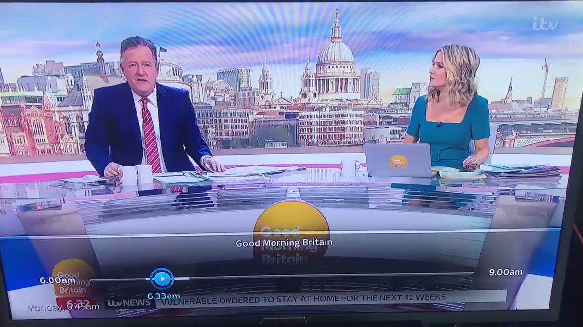 That awkward moment when Piers Morgan is looking like the journalist of the year.