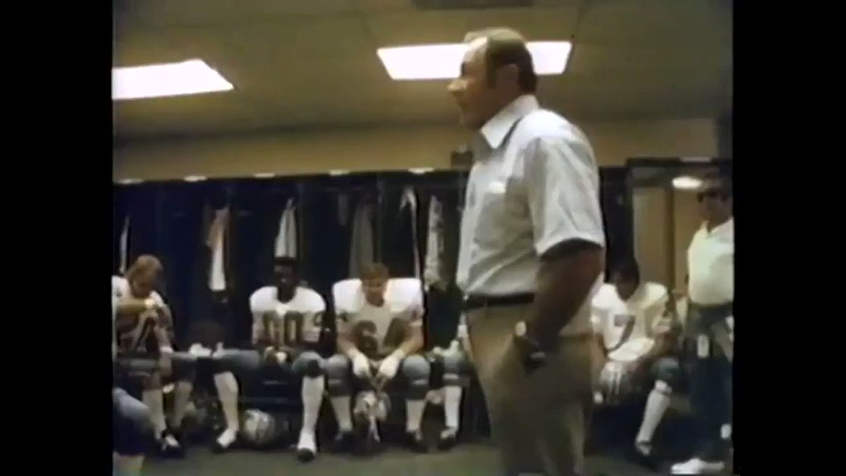 This is not only the worst pregame speech ever, it's the worst speech of any kind ever