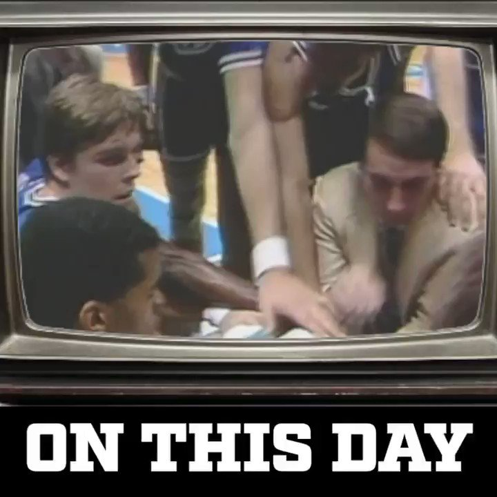 #DukeOnThisDay | 1986 Big dub over Navy sent Coach K to his 1st of 12 Final 4's!