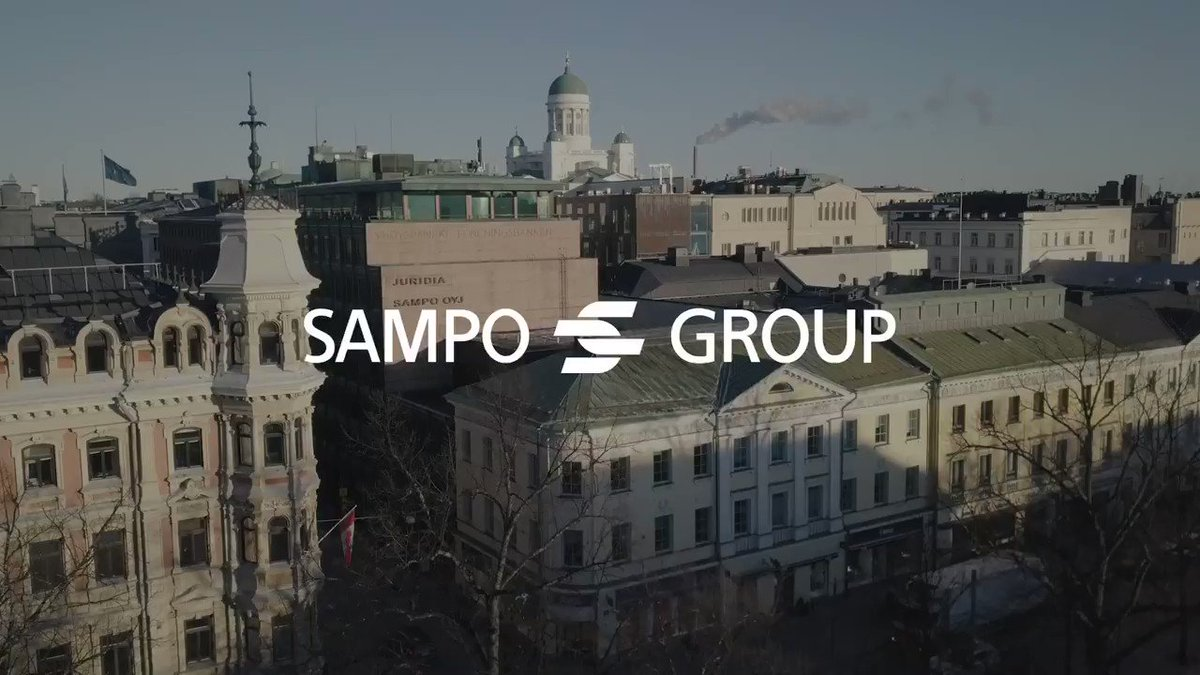 Developments in Sampo Group during the past year are discussed with Group CEO Torbjörn Magnusson and the CEOs of If, Topdanmark and Mandatum Life. Watch the full video review at sampo.com/year2019