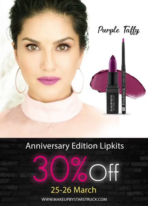 Time to UP your GLAM GAME at home!  #AnniversaryEdition shades will be now available at 30% OFF Sale