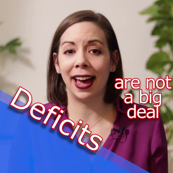 We CAN and SHOULD have: ✅#MedicareForAll ✅#GreenNewDeal ✅#AbolishStudentDebt ✅#COVID19Relief ✅#JobsGuarantee ✅#HomesGuarantee ✅#SmallBusinessRelief ✅#DebtFreeze  Everyone, please watch & RT this video to learn how we will pay for it!  #LearnMMT #MMT #COVID19 #PeopleFirst
