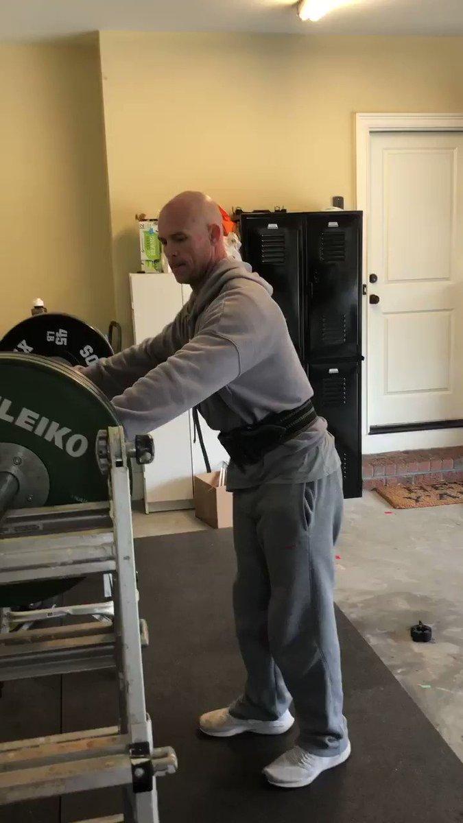 Watch: UGA S&C coordinator Scott Sinclair's  quarantine workouts