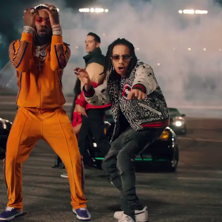 """""""2 Seater"""" Music Video Dropping Tomorrow 🦅 are you ready? 👀🔥 @G_Eazy @OffsetYRN @_Hitmaka 🏎💨🐓"""