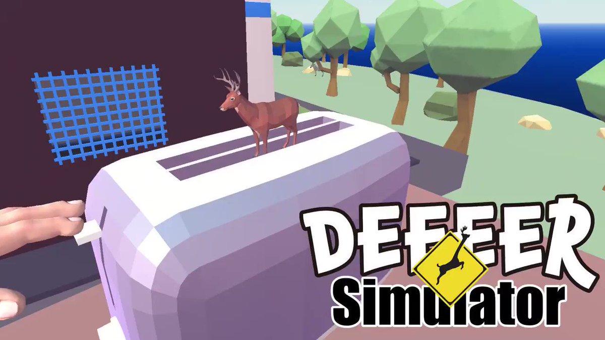 【お知らせ その2】 I am Breadとコラボ!『ごく普通の鹿のゲーム DEEEER Simulator』パン参上!今日からは、パンになって遊べます! store.steampowered.com/app/1018800/_D…