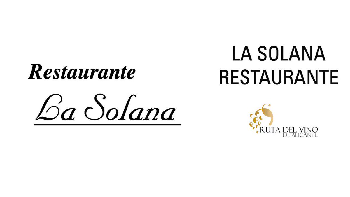 Image for the Tweet beginning: Restaurante La Solana. Un restaurante familiar