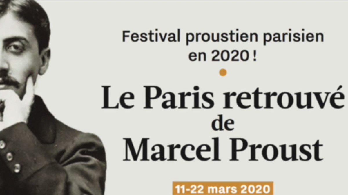 Image for the Tweet beginning: S'évader avec M. #Proust en