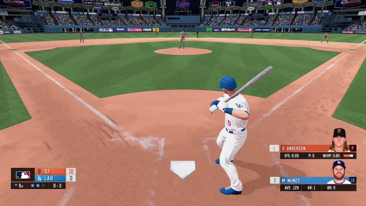 changed batting settings to classic. Finally could hit a ball #RBIGAME #NintendoSwitch