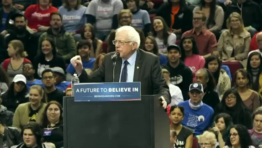 Today 4 years ago on March 25 a magical moment happened when a little bird flew onto @BernieSanders podium at his Portland rally.  That's the day the world welcomed Birdie Sanders! 🕊️