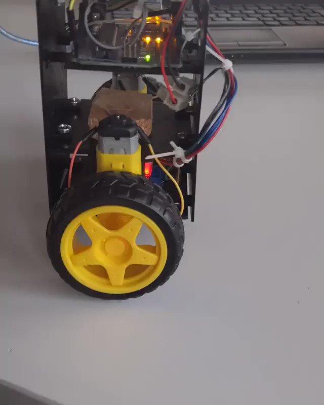 A self-balancing robot with Arduino UNO ➡️ follow @OffiCuteLava  📷 @3dprinting92  #cutelava #prototype #prototyping #engineering #entwickeln #engineer #arduinoprojects #arduino #arduinouno #3ddrucker #3dprint #3dprintingworld #ingenieur #printing3d #engineerlife