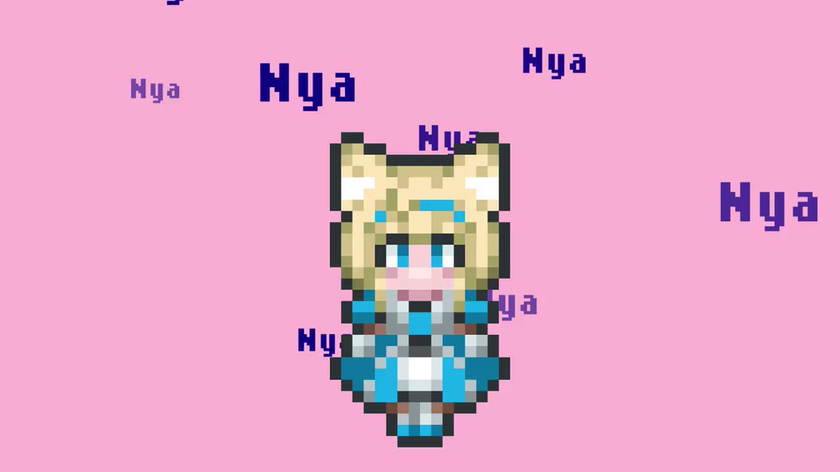 【歌ってみた 初投稿】バーチャルアンドロイドのわたし、アリスクリュームがノリノリで歌ってみました🐈動画‣ 曲‣Nyanyanyanyanyanyanya! / daniwellさま5000兆回ループをおねがいいたします🐱#初投稿 #歌ってみた #NyanCat #新人Vtuber