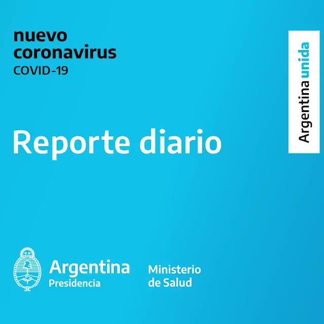 """Ministerio de Salud de la Nación on Twitter: """"Informe diario sobre ..."""