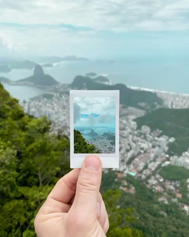 A Polaroid from the Marvelous City for you guys spreading love and hope to the world!   We hope to see you all in Rio soon, making your own memories. Until then, #Stayhome  : Kyle Huber  #RioDeJaneiro #Rio #RJ #mirantedonamarta #DonaMartapic.twitter.com/7zcYEXkXyX