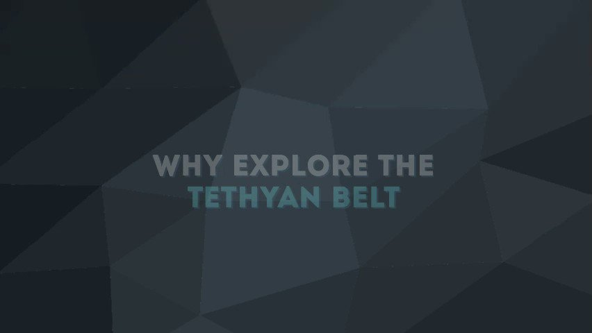 Image for the Tweet beginning: Why explore the Tethyan Belt?