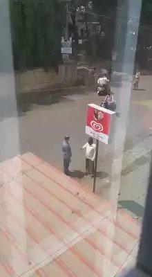 Talk about police brutality now 😡 #21daylockdown #CoronaVillains #coronavirus