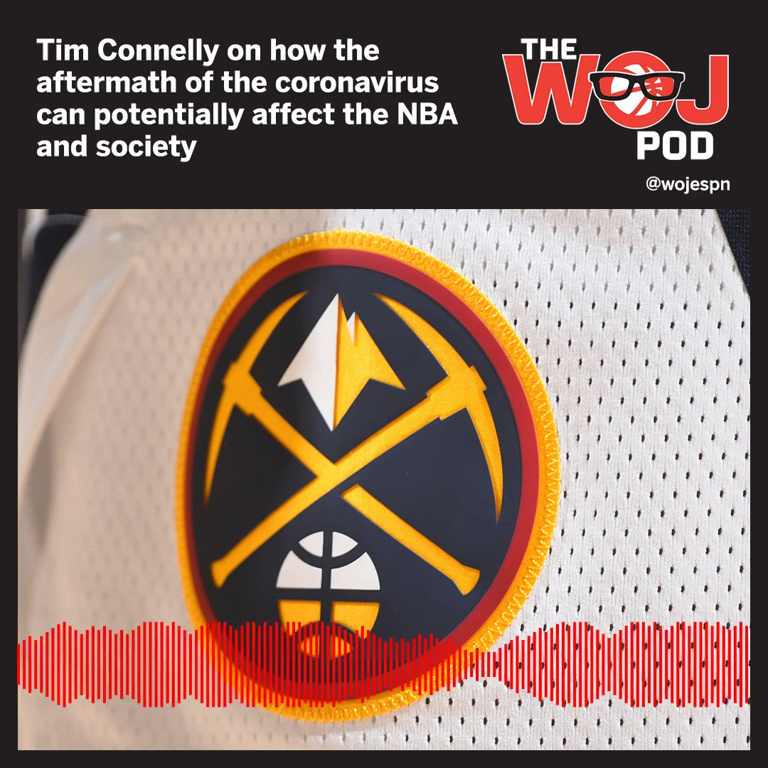 Full episode of The Woj Pod with Denver Nuggets President Tim Connelly: apple.co/2WMAfZ5