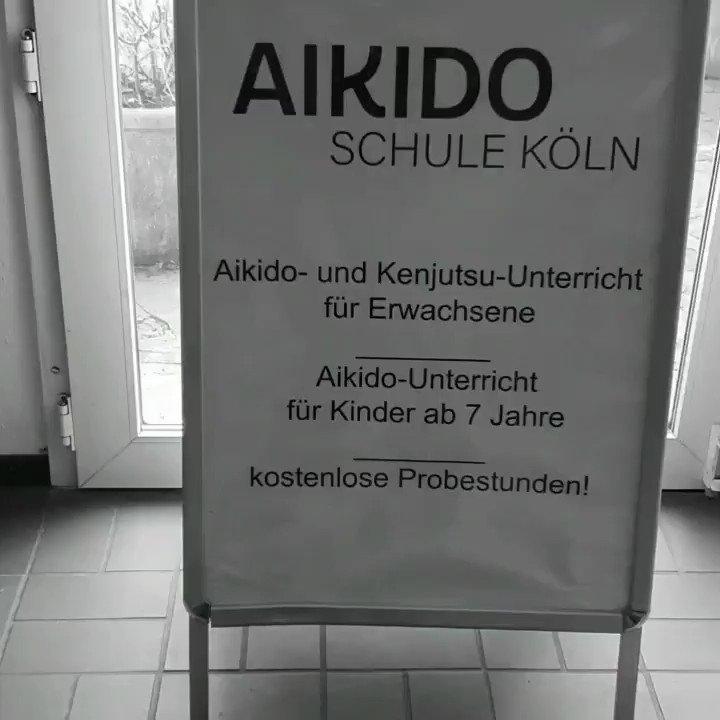#aikido in Times of #coronavirus ...nobody there ... #aikidoschulekoeln #aikidoschuleköln #agnesviertel #köln #Cologne #notraining #emptyroomspic.twitter.com/E7ZyWFEfAR