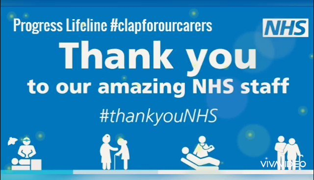 Progress Lifelines control centre staff want to send a massive thank you to our amazing NHS staff and carers who are on the front line. We applaud each and every one of you #ClapForOurCarers  #ClapForNHS  #thankyouNHS  #StayHomeSaveLives