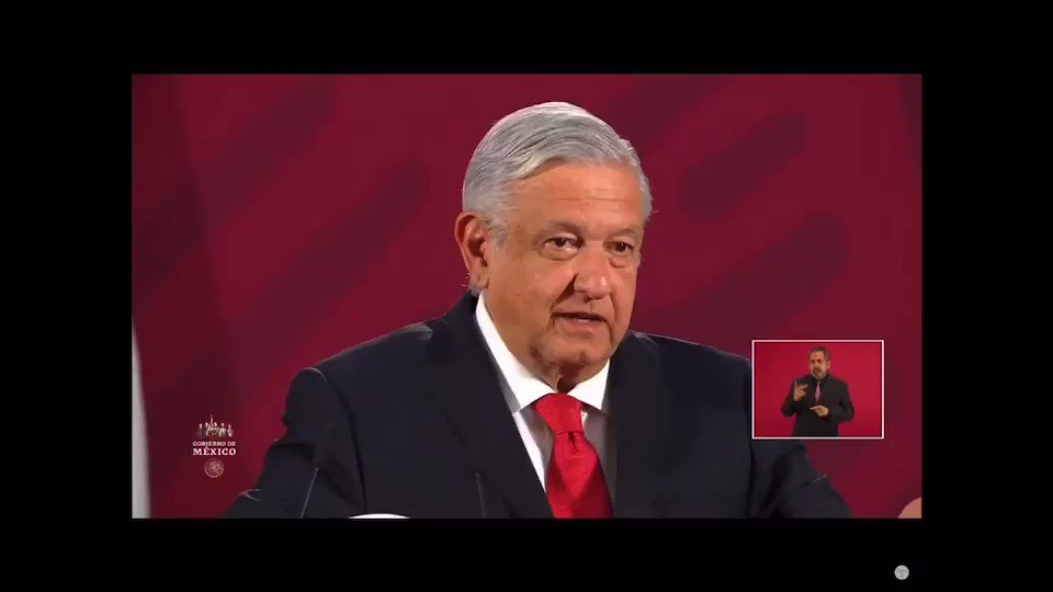 Image for the Tweet beginning: 🔴 El Presidente @lopezobrador_ le
