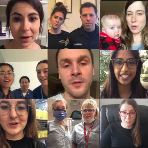 Please take a moment to watch this important message created by our colleagues on the frontlines. #COVID19