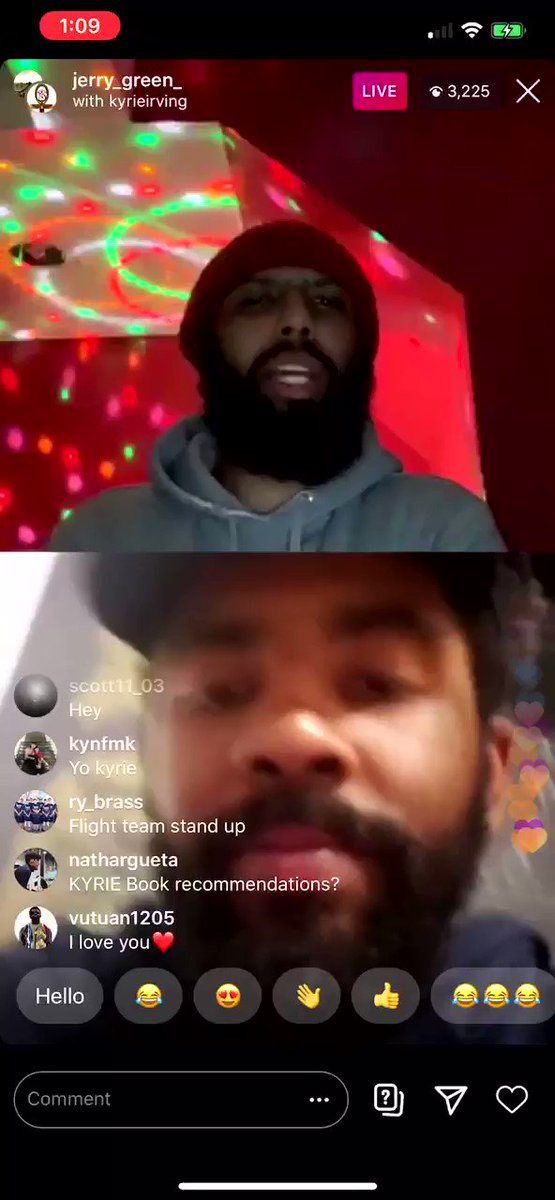 enjoyed Kyrie telling one of his favorite Kobe stories from the Cavs days
