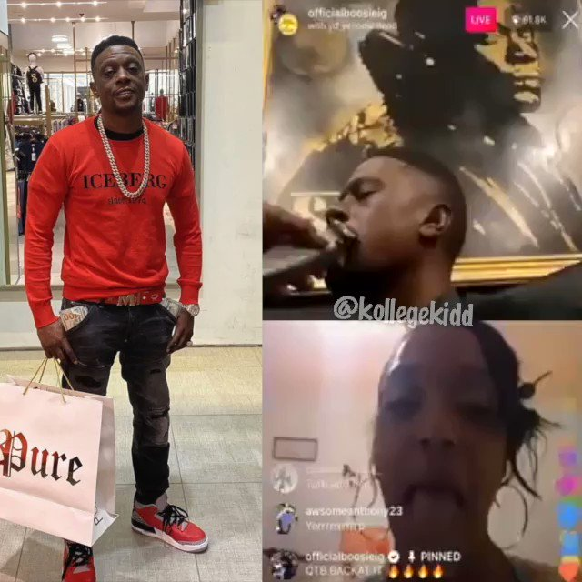 Woman Shows Boosie Her Long Tongue 😂🤣