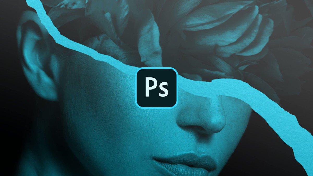 Descubra como fazer uma colagem com borda de papel rasgado no Photoshop!  Assine o Photoshop + Lightroom por R$43/mês no Plano Fotografia! Imperdível: 0800 047 4493 | https://adobe.ly/2vN7Gfr.
