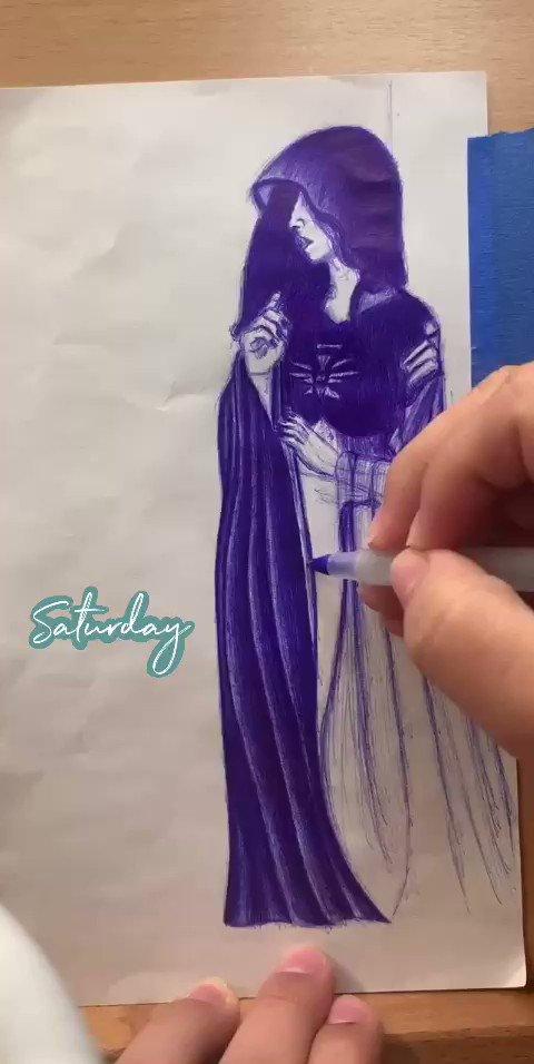 Work in progress #workinprogress #art #pendrawing #SaturdayVibes #drawing #pic.twitter.com/I2SETvNLeQ