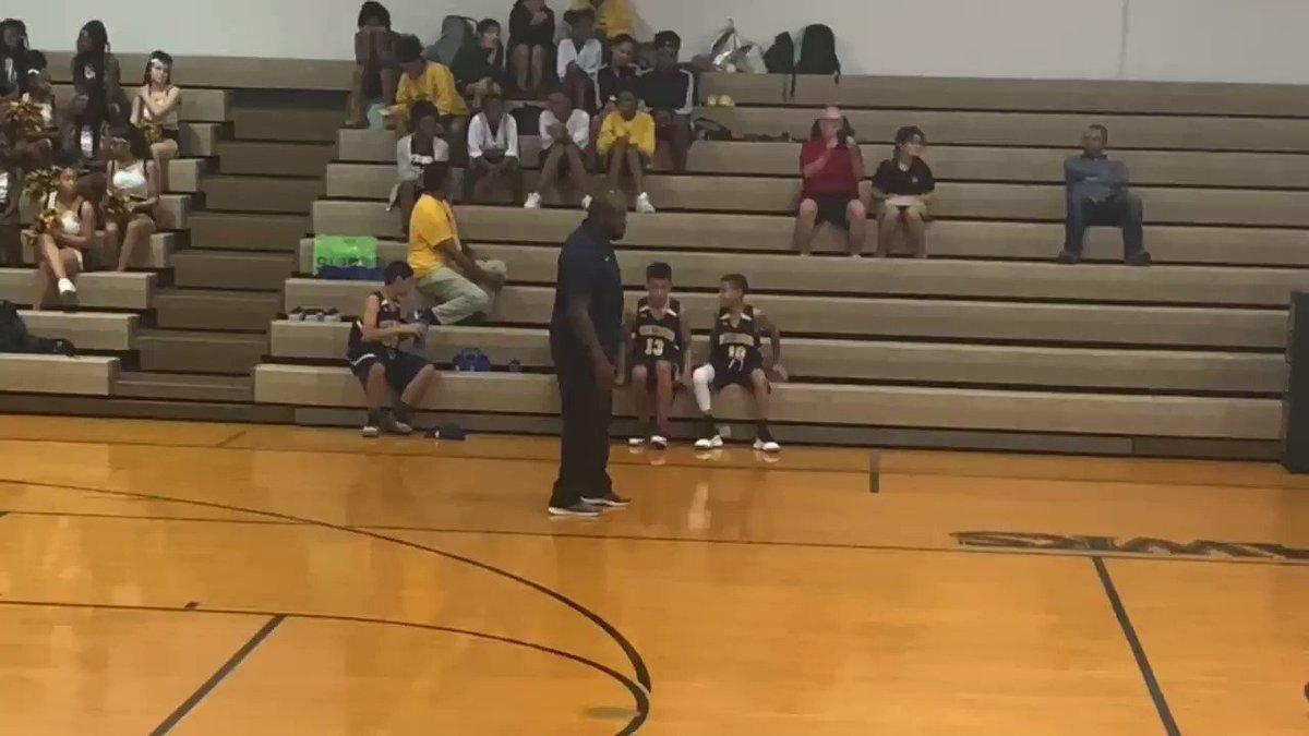 A few of Cam's 30 Threes this middle school season (out of 12 games).         Remastered for the quarantine  #CoronaVersion   @CoachDavidSaur @SkinsHoops86   #FreeJoeExoticpic.twitter.com/DCdLdu36d5