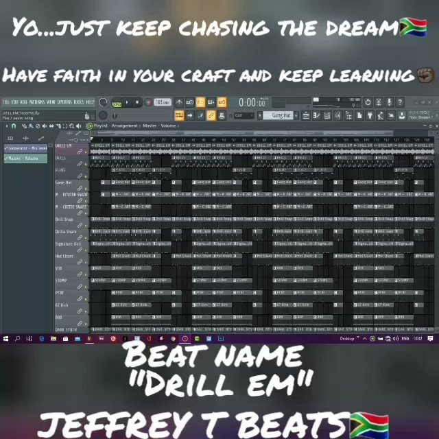 Yo..just keep chassing the dream  Beats on sale  #beats #typebeats #trapbeats #music #COVID19SouthAfrica #lockDownSouthAfrica #CoronaUpdate #21DayPhotoChallengeSA #Covid_19 #TigerKing #StayAtHomeAndStaySafe #flstudio20 #rappers #singers  Hit me up 081 2823 844pic.twitter.com/9Uy7oHyaKs