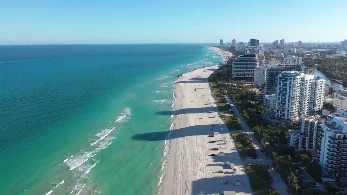 Empty @MiamiBeachNews on a Sunday afternoon